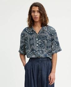 パジャマシャツ BANDANA BLUES