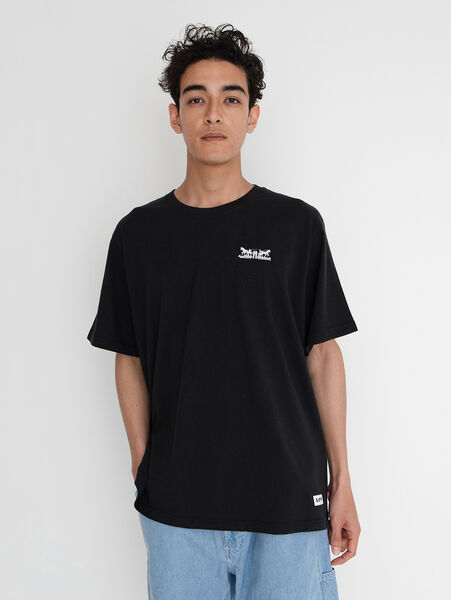 SS RELAXED FIT TEE SSNL 2H CHESTHIT CAVIAR