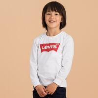 バットウィングロングスリーブTシャツ (身長90-120cm)