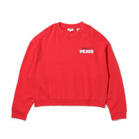GRAPHIC DIANA CREW INCREASE THE PEACE Poppy Red