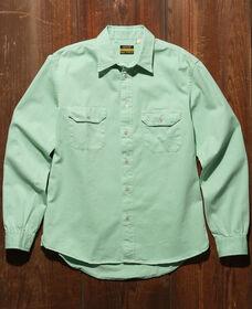 TAB TWILLS ワークシャツ MEADOW