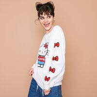 オーバーサイズロングスリーブTシャツ HELLO KITTY & BO