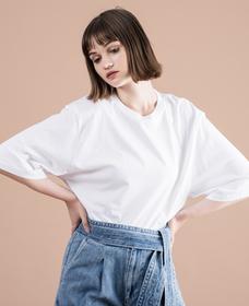 LEVI'S® MADE & CRAFTED® オーバーサイズスリーブTシャツ BRIGHT WHITE