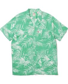キューバシャツ ARCHIE CREME DE MENTHE PRINT