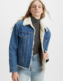 EX BF WOOL LINED トラッカージャケット WILD AND WOOLY