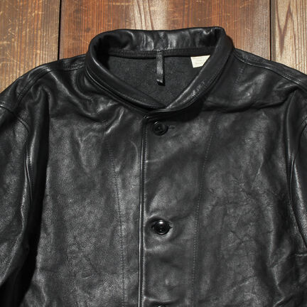 Menlo Cossack Jacket 39204: 0001 Jet Black