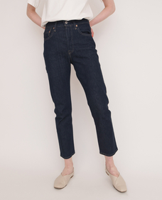 501® CROP LMC RAW INDIGO