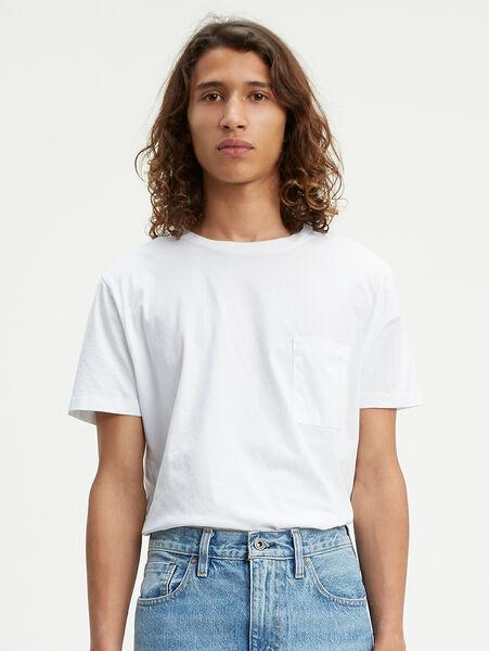ポケットTシャツ BRIGHT WHITE