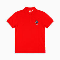 AUTHENTIC ロゴポロシャツ MARIO POLO RED