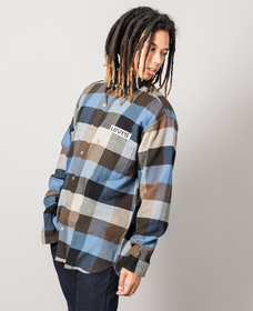 オーバーシャツ BANDURRIA DUTCH BLUE PLAID