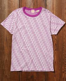 LEVI'S® VINTAGE CLOTHING グラフィックTシャツ EARTH GRAPHIC TEE PURPLE MULTI