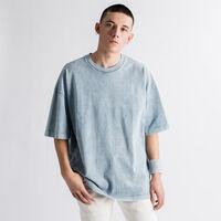 オーバーサイズTシャツ  COPEN BLUE WASH