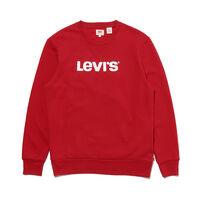 グラフィッククルーネックスウェットシャツ G METALLIC LEVI'S