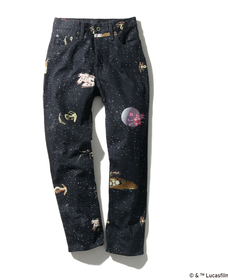 501® CROP GALAXY AOP WOMENS