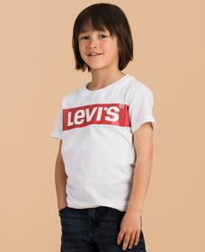 リーバイスロゴTシャツ OVERSIZED BOX TAB(身長90-120cm)