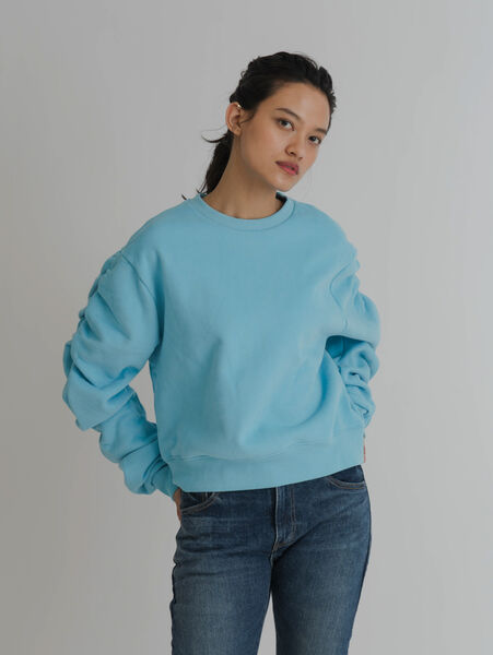 RIPTIDE スウェットシャツ BLUE BREEZE