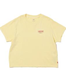グラフィックTシャツ CALI BOX TAB CHEST HIT GARMENT DYE PALE