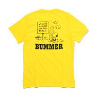 バットウィングロゴTシャツ PEANUTS BUMMER YELLOW