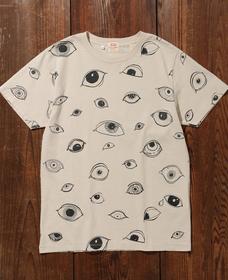 グラフィックTシャツ EYEW GRAPHIC TEE ECRU