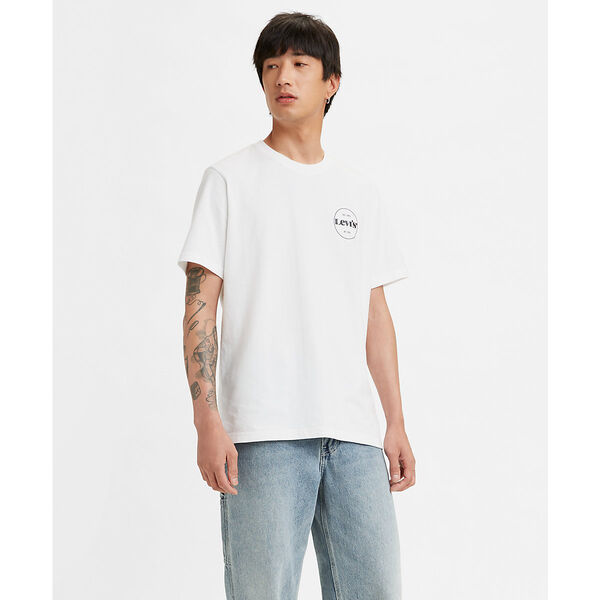 SS RELAXED FIT Tシャツ SSNL MV LOGO 2 WHITE