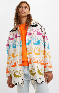 FREAKY PARKA MULTI-COLOR CREATURE BL
