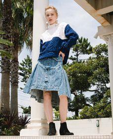 TYPE III スカート MID DAY BLUE