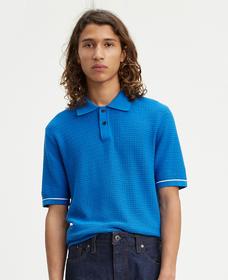 ポロシャツ CROCHET STITCH