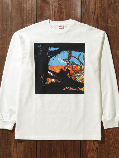 80'S LS GRAPHIC Tシャツ TART