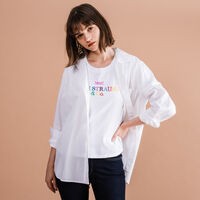 THE ULTIMATE ボーイフレンドシャツ BRIGHT WHITE