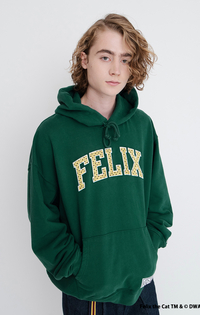 GRAPHIC HOODIE FELIX MAGIC BAG FOREST BIOME
