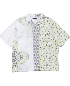 SS CAMP COLLAR SHIRT ASHER BRIGHT YELLOW