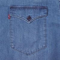 MODERN CLASSIC ウエスタンシャツ DARK WASH