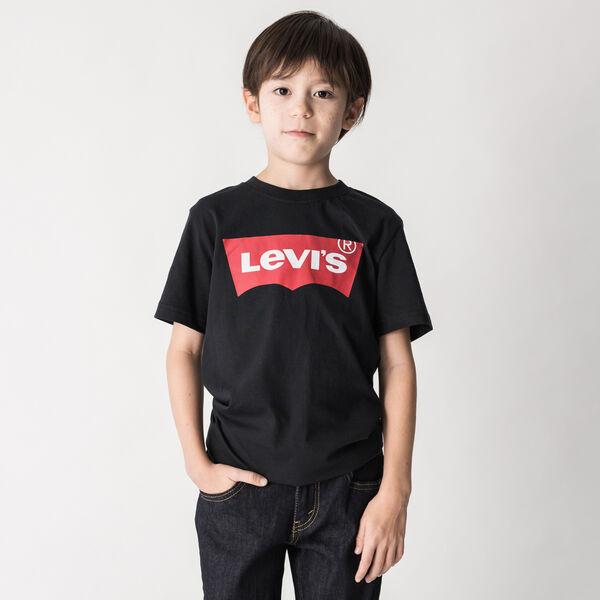 バットウィングロゴTシャツ (身長130-150cm)
