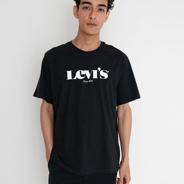 SS RELAXED FIT Tシャツ MV SSNL LOGO 2 CAVIAR+