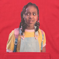 STEVES スウェットシャツ BRILLIANT RED  GRAPHIC