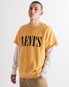 HYBRID クルーネックスウェットシャツ GOLDEN APRICOT