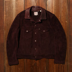 Levi's Vintage Clothing 1960s Suede Trucker Jacket 29920-0001