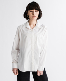 THE ULTIMATE ボーイフレンドシャツ BRIGHT WHITE +