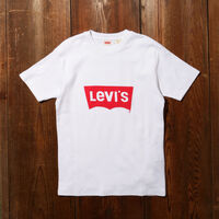 LEVI'S® VINTAGE CLOTHING 70S バットウィングロゴTシャツ WHITE