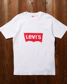 70S バットウィングロゴTシャツ WHITE