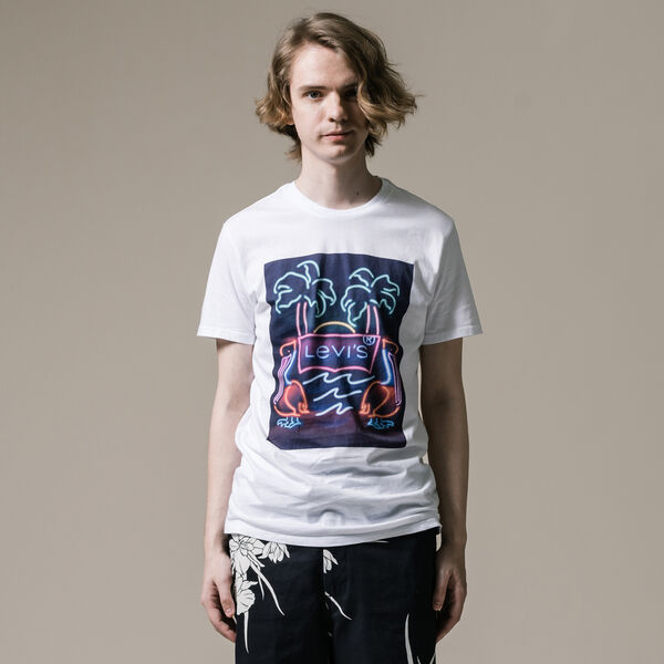 グラフィックTシャツ HM TREND 2 WHITE