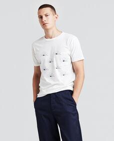 ポケットTシャツ/SUNRISEBLUE
