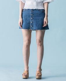 ボタンフロントスカート CARVED STONE