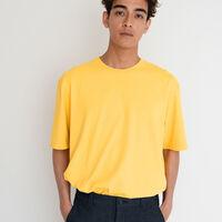STAY LOOSE SS Tシャツ RUGGED DYE SUPER LEMON