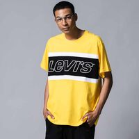 カラーブロックTシャツ JERSEY COLORBLOCK BRILLIANT YELLOW