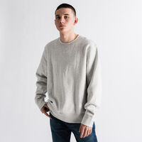 LEVI'S® MADE&CRAFTED® リラックスクルーネックスウェット WHITE STONE HEATHER