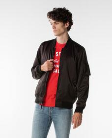 リバーシブルMAー1ジャケット-BLACK