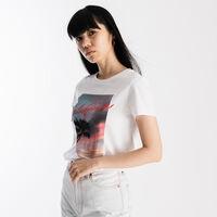 パーフェクトTシャツ PINK CALIFORNIA SKIES WHITE