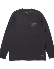 SKATE グラフィックロングスリーブTシャツ LSC BLACK CORE BATWING BLACK