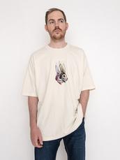 SKATE GRAPHIC BOX Tシャツ RABBIT SKULL OFF WHITE